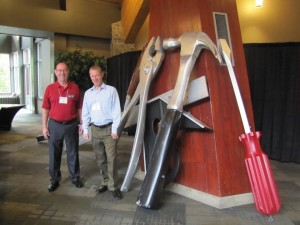 tooling up with BSIA at Whistler