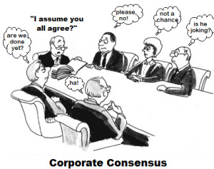 corp consensus